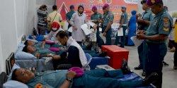 Yonmarhanlan VI Makassar Gelar Donor Darah