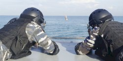 Koarmada II Lantamal VI Sukses Gelar  Latihan Tempur di Laut Barombong