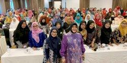 Jumpa Kader Posyandu, Ini Pesan Indira Jusuf Ismail
