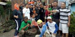 Camat Mariso Adakan Kerja Bakti di Kelurahan Bontomarannu