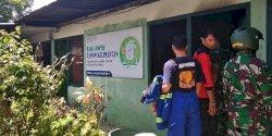 Rumah Bank Sampah di Kecamatan Wajo Dilahap Si Jago Merah