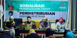 Pemerintah Kecamatan Tamalanrea Akan Salurkan Dana Zakat Baznas Kepada Warga