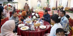 Warga Hadiri Open House Pj Wali Kota Makassar