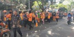 Puluhan Tim Satgas Kebersihan Aksi Zero Sedimen di Mapala
