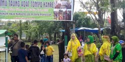 "Warga Kelurahan Bira Gelar  Syukuran dan Selamatan ""Tammu Taung Adat Tompo Kanre"""