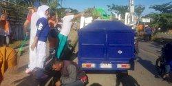 Sekcam Biringkanaya Pimpin Apel Gema Sabtu Bersih di GOR Sudiang
