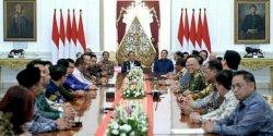 Presiden Jokowi, Kadin, dan Hipmi Bahas Peluang atas Perang Dagang AS dan Tiongkok