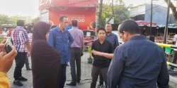 DPRD Makassar Sidak Pasar Segar,   Diduga Berdiri di Fasum