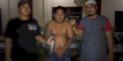 Bubarkan Perang Kelompok, Polisi Amankan Pria Bertato Bawa Badik