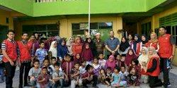 Pemerintah Kecamatan Panakukang dan Peserta KKN Unhas Kunjungi Yayasan Panti Asuhan Bustanul Islamiyah