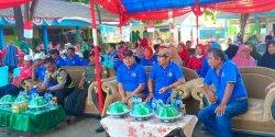 Jelang HUT ke-74 RI, Kelurahan Kapasa Raya Gelar Pekan Olahraga