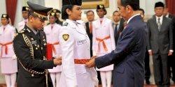 Nama-nama 68 Anggota Paskibraka yang Telah Dikukuhkan Presiden Jokowi