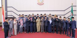Rapat Paripurna DPRD Makassar Bahas Ranperda Perubahan APBD 2019