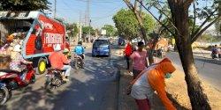 Kerja Bakti Jumat Bersih di Kecamatan Biringkanaya