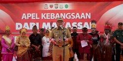 Camat Mamajang Hadiri Apel Kebangsaan dari Makassar Papua Damai untuk Indonesia