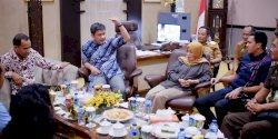 Pimpinan DPRD Terima Kunjungan Kepala Kejaksaan Negeri Makassar