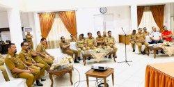 Camat Makassar Hadiri Rakor Penanganan Anjal dan Gepeng