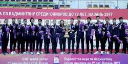 Sejarah Baru, Tim Junior Indonesia Bawa Pulang Piala Suhandinata