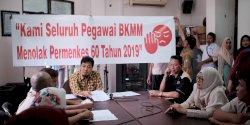 Berkunjung ke DPRD Makassar,  BKMM Sampaikan Aspirasi Permenkes Nomor 60 Tahun 2019