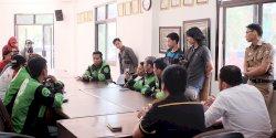 DPRD Makassar Terima Aspirasi Driver Gojek Soal Pemulan Oknum Dinas PU