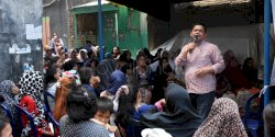 Anggota DPRD Makassar Fasruddin Rusli Kunjungi Warga di Veteran Selatan