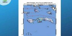 Ambon Diguncang Gempa 5,1 SR,  Tidak Berpotensi Tsunami