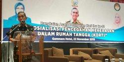 DPPPA Sulsel Gelar Sosialisasi Pencegahan KDRT