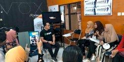 Universitas Haluoleo Undang Gojek Bahas Peran Komunikasi di Era Industri 4.0