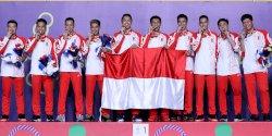 Kontingen Indonesia Lampaui Target di SEA Games 2019