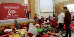 Pertamina Gelar Donor Darah di 72 Titik, Target 2,062 Kantung Terkumpul
