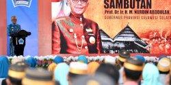 HUT ke-765 Bantaeng, Ini Pesan Gubernur Nurdin kepada Bupati