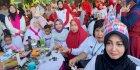 Peringati Hari Ibu, TP PKK Kota Makassar Hadiri Jalan Sehat Keluarga