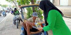 Jumat Sedekah, Aksi Peduli oleh Pimpinan hingga Staf Inspektorat Makassar