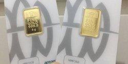 Harga Emas Antam Turun,  Berikut Daftarnya