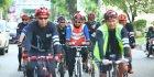 Iqbal Gowes Bersama Ratusan Pecinta Sepeda
