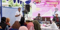 Pj Walikota Makassar Resmikan Sekolah Inklusi Quantum Brain 2