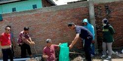 Mahasiswa KKN UMI di Pinrang Bikin Resapan Air Limbah