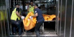 Korban Tenggelam Dibawa ke RS Dokpol RS Bhayangkara