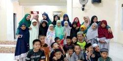 Mahasiswa KKN UMI Sukseskan Tahfidz Camp di Pinrang