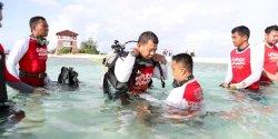Dukung Penanaman Terumbu Karang Kebangsaan2020, Ini yang Dilakukan Pj Walikota Makassar