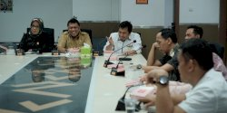 DPRD Makassar Terima Kunjungan  Pansus Tatib DPRD Majene