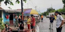 Antisipasi Banjir, Camat Tallo Pantau Pengerukan Drainase di Rappokalling