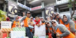 Iqbal Suhaeb Hadiri  HUT Smansa Makassar