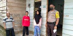 Polisi Ini Intesif Sosialisasikan Bahaya Corona, Termasuk kepada Anak-anak