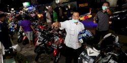 Patroli Malam, Gugus Tugas Covid-19 Makassar Minta Warga Pulang ke Rumah