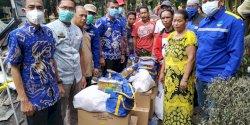 Pemkab Gowa Serahkan Bantuan ke Korban Kebakaran Somba Opu