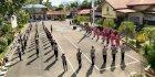 Kapolres Pimpin Upacara Pelantikan dan Sertijab Lingkup Polres Pangkep