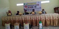Polsek Pulau Sembilan Bentuk Relawan Lawan Covid-19