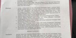 Bandel, Izin Usaha Toko New Agung Dicabut