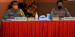 Wakapolda Sulsel Pimpin Rapat Penertiban Aspol Mappaoddang
